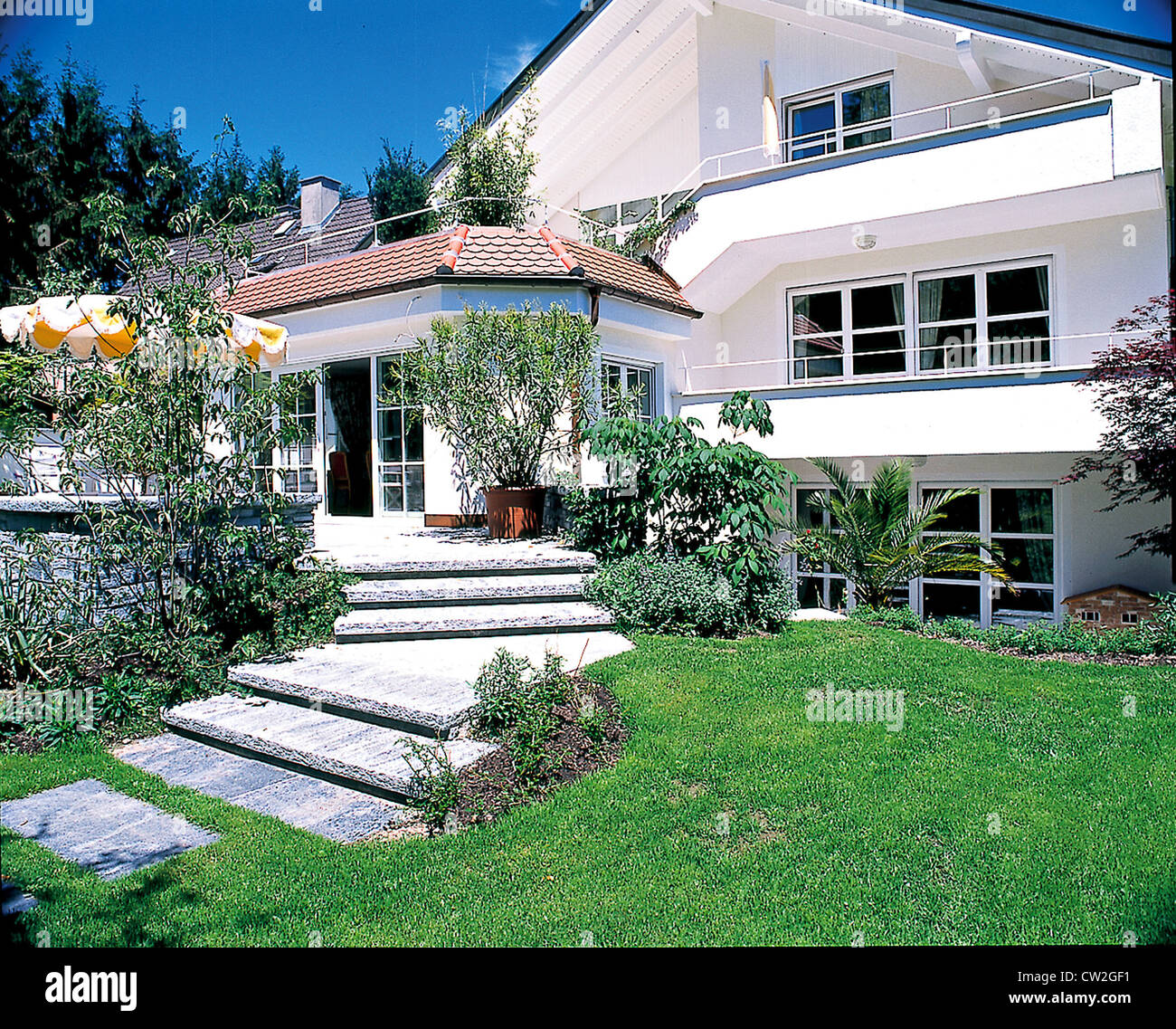 Dream House With Garden