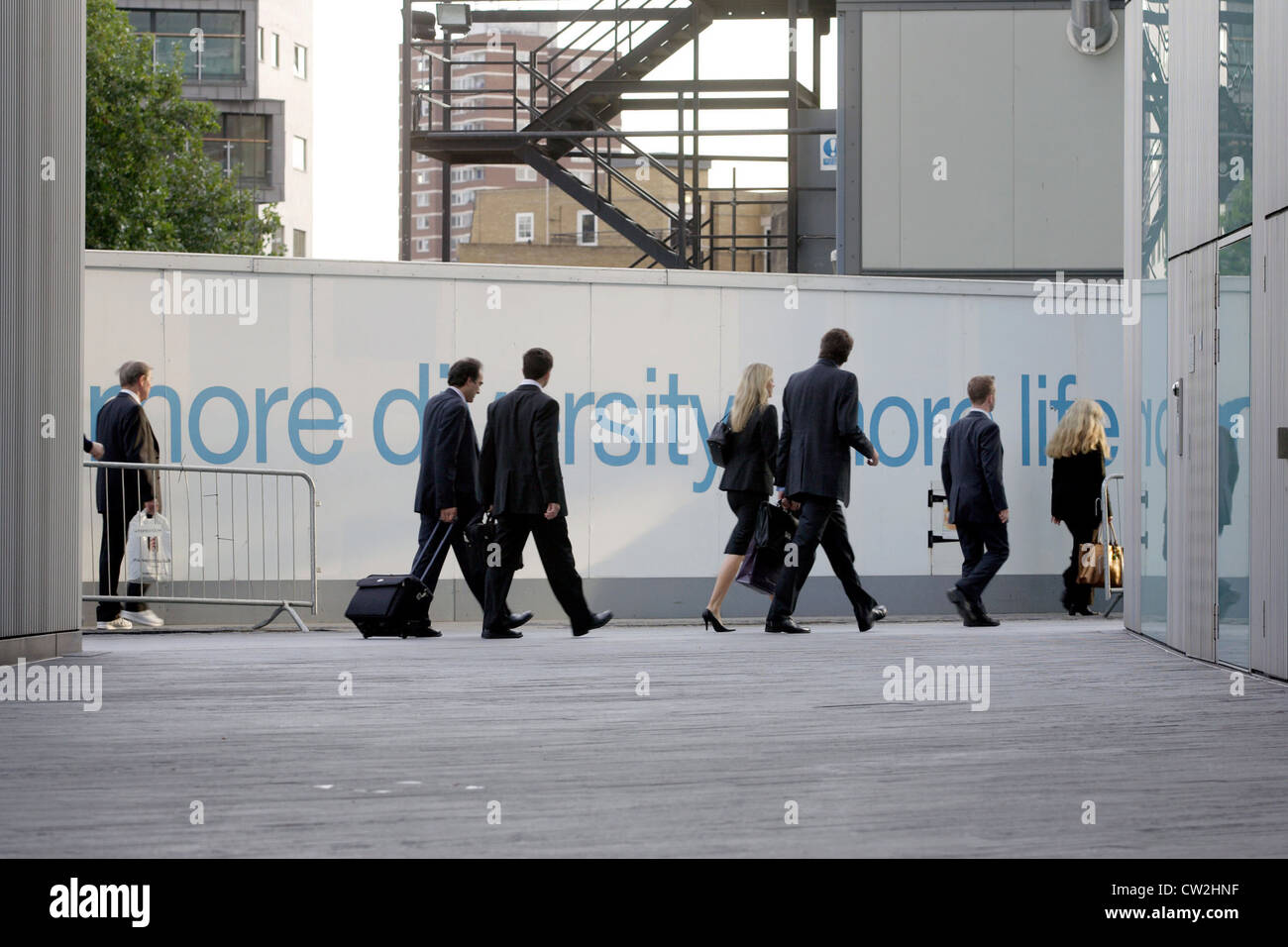 London, South Central, MORE DIVERSITY, MORE LIFE - Stock Image