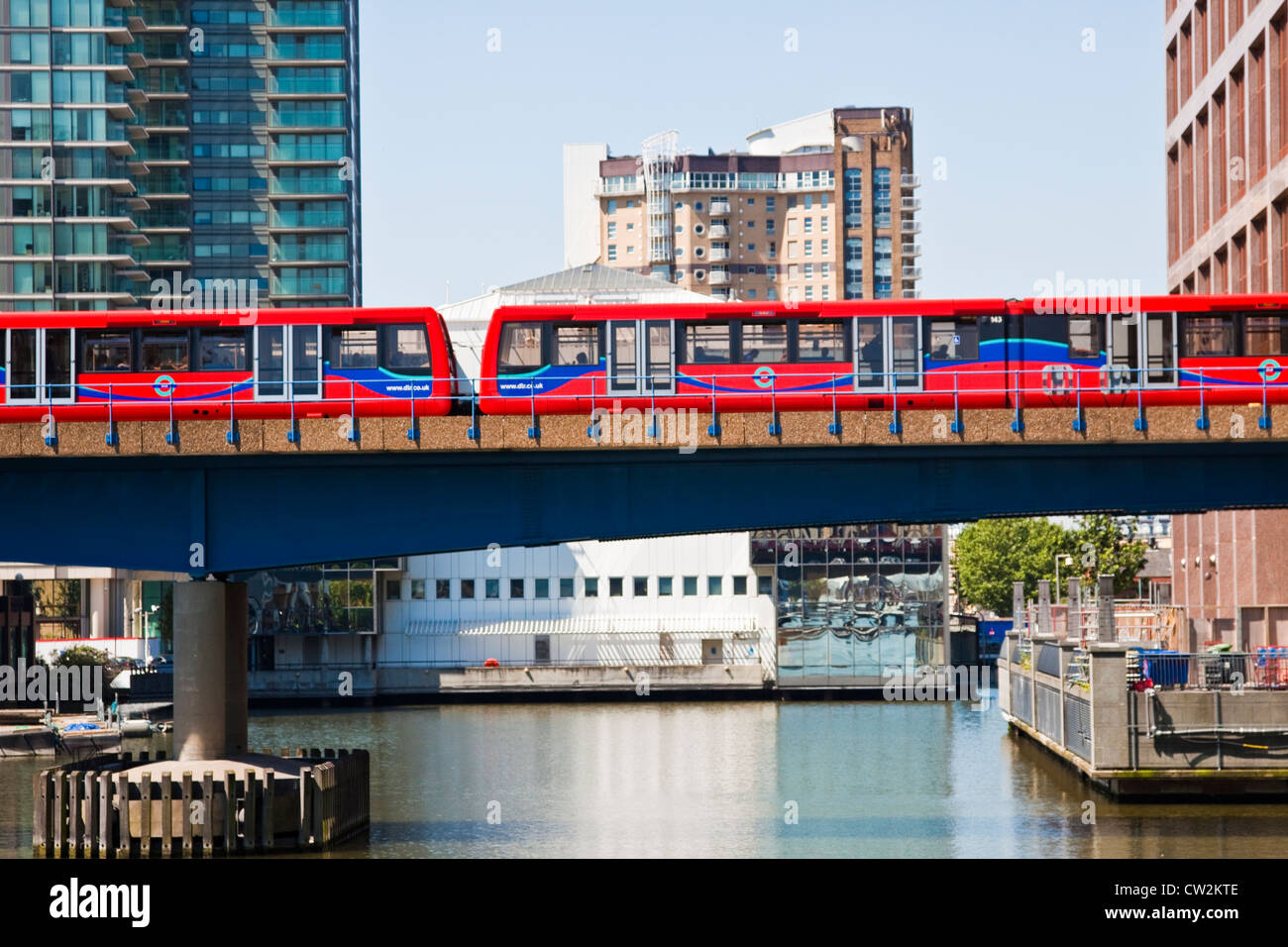 Canary Wharf-Docklands - Stock Image