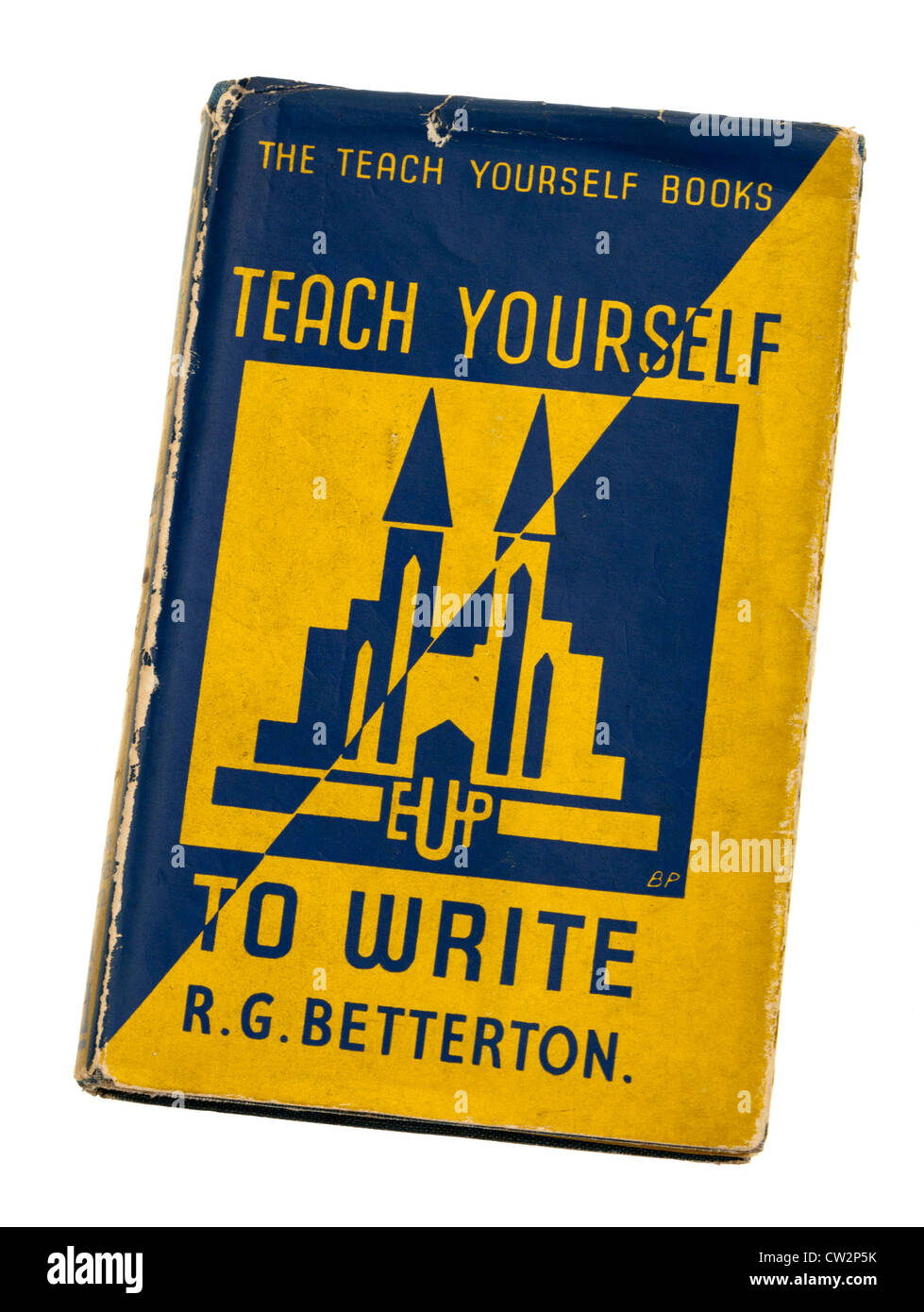 Teach Yourself book on writing - Stock Image