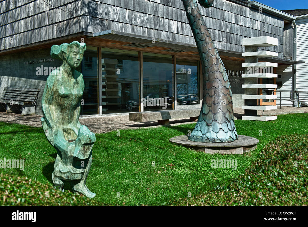 Provincetown Art Association and Museum, Cape Cod, Massachusetts, USA - Stock Image