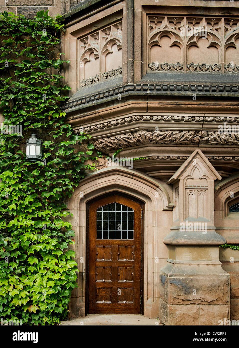 Ivy League architecture, Princeton University, New Jersey, USA Stock Photo