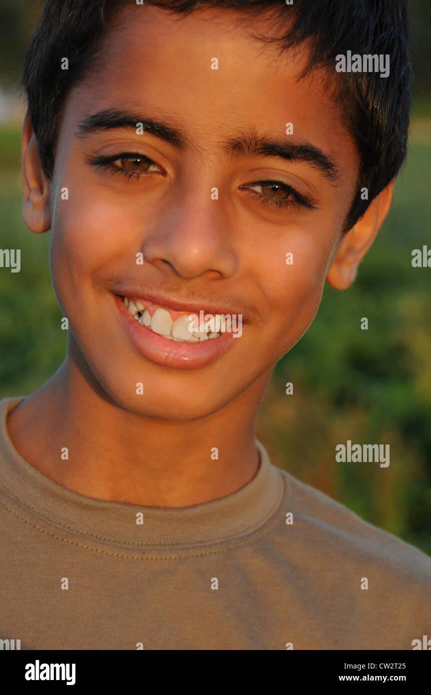 Arab boy teen