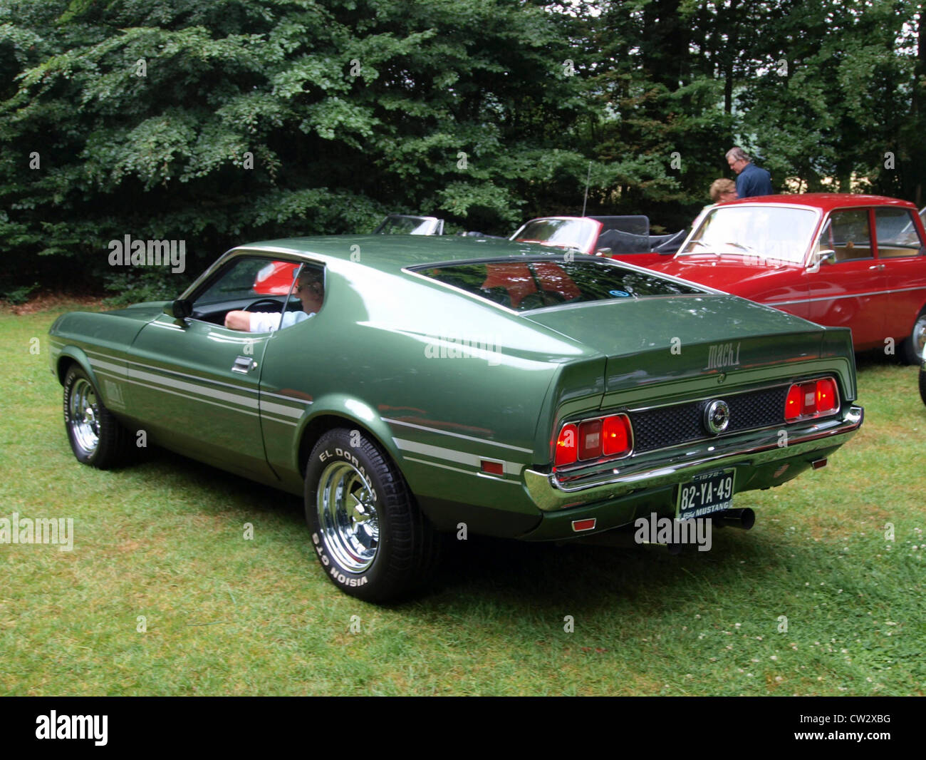 Ford mustang mach 1 1973 stock photo 49851748 alamy