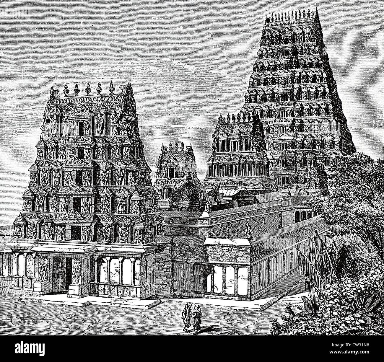 Pagoda of Dschaggernaut - Stock Image