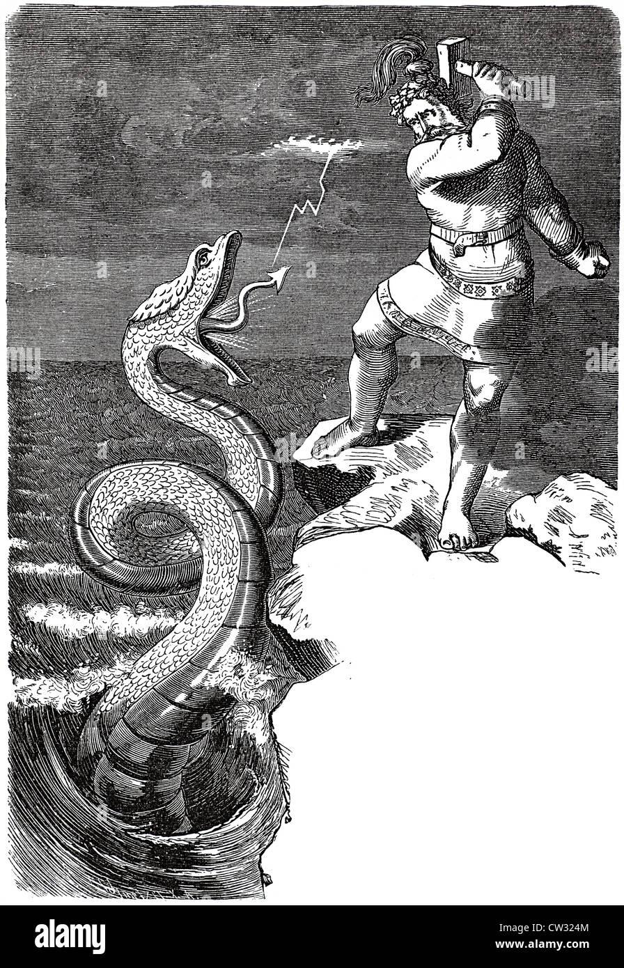 Snake magic - Stock Image