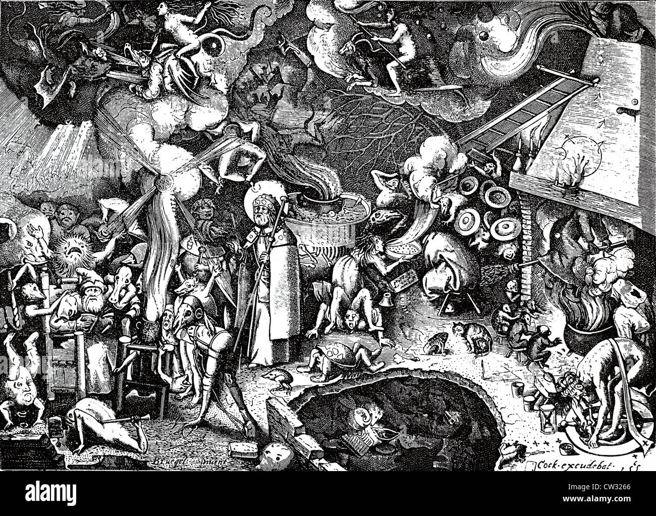 The Witches Sabbath - Stock Image