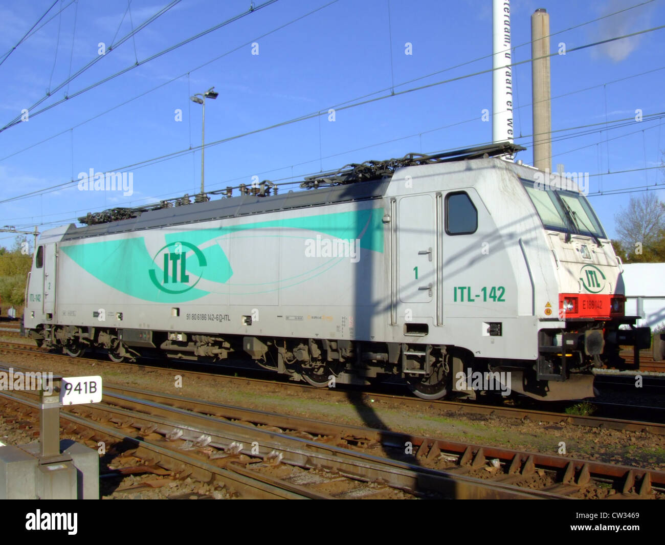 ITL 91 80 6186 142-6 D-ITL - Stock Image