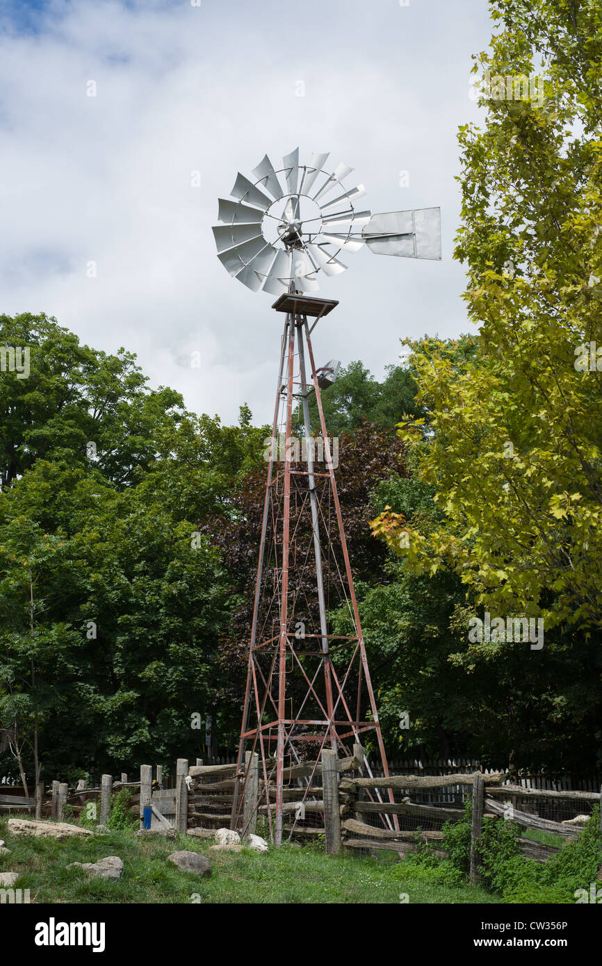 This is an image of wind mill - Stock Image