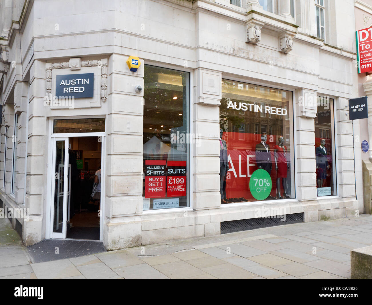 Austin Reed Store On St Ann S Square In Manchester Uk Stock Photo Alamy