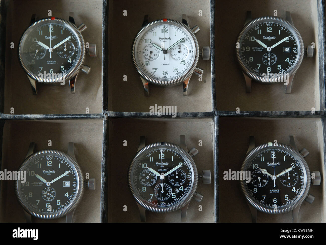 Hanhart watch factory in the Black Forest - Stock Image