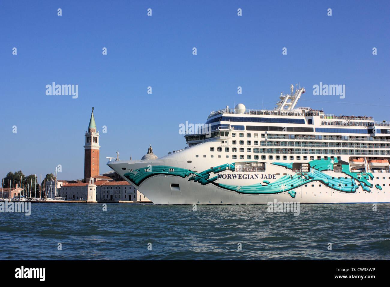 Cruise ship Norwegian Jade - Stock Image