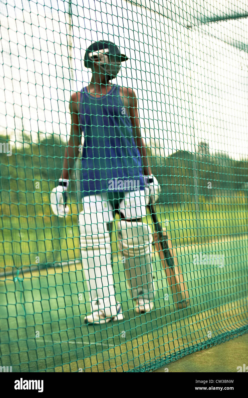 Cricket Nets High Resolution Stock Photography And Images Alamy
