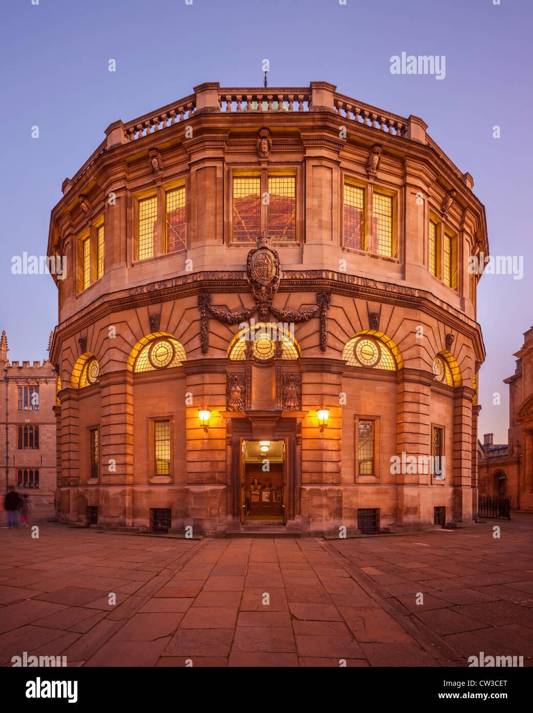Sheldonian Theatre, Oxford Stock Photo