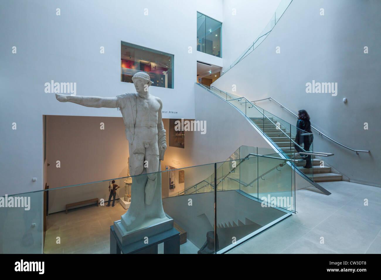 New Ashmolean Museum Interiors, Oxford - Stock Image