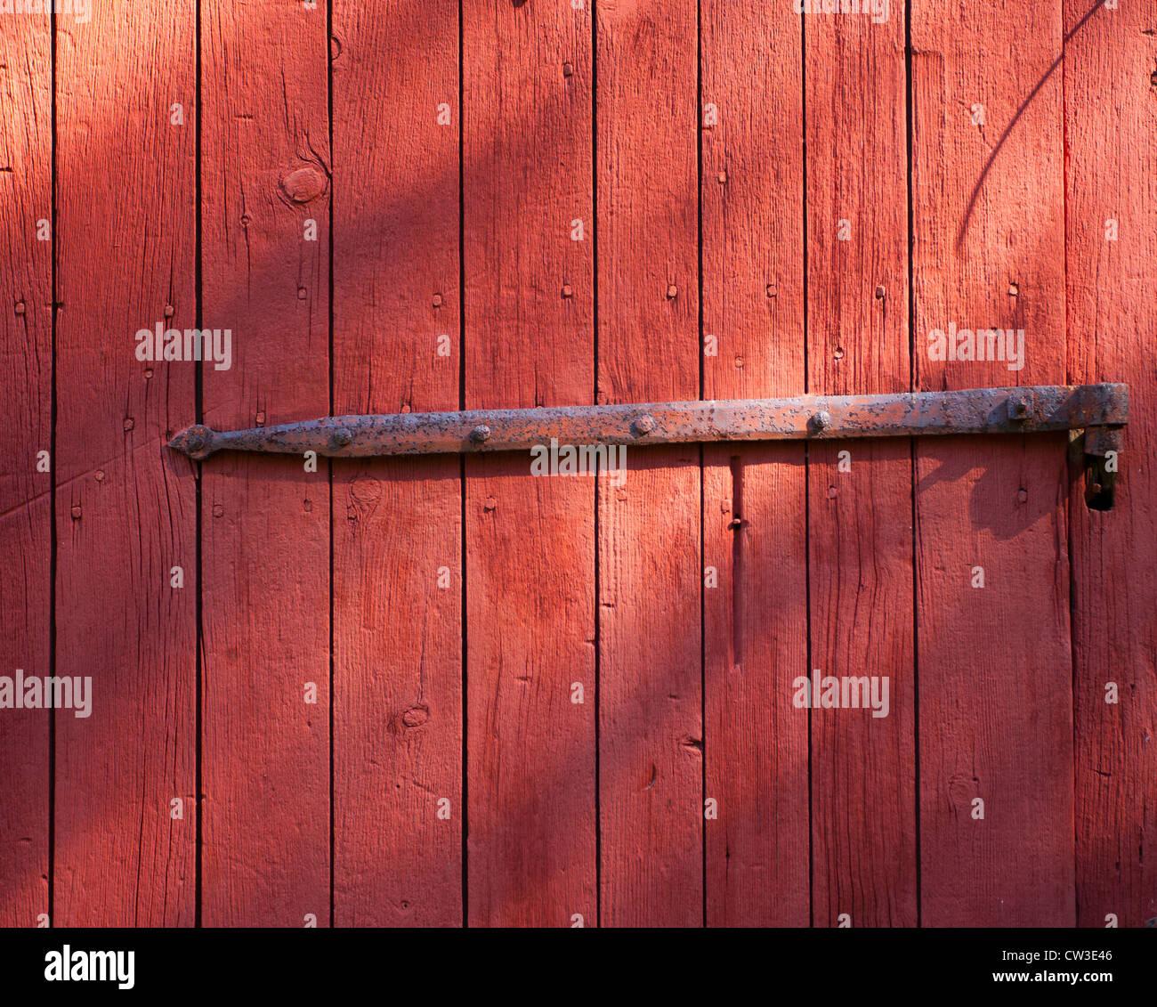 A Hinge On An Old Barn Door