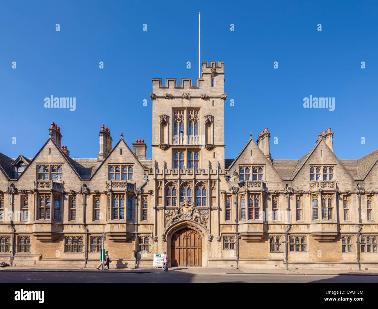 Brasenose College, Oxford - Stock Image