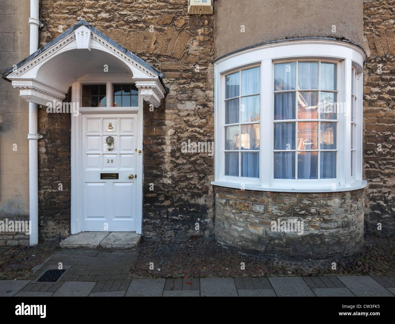 Cromwell's House, Woodstock - Stock Image