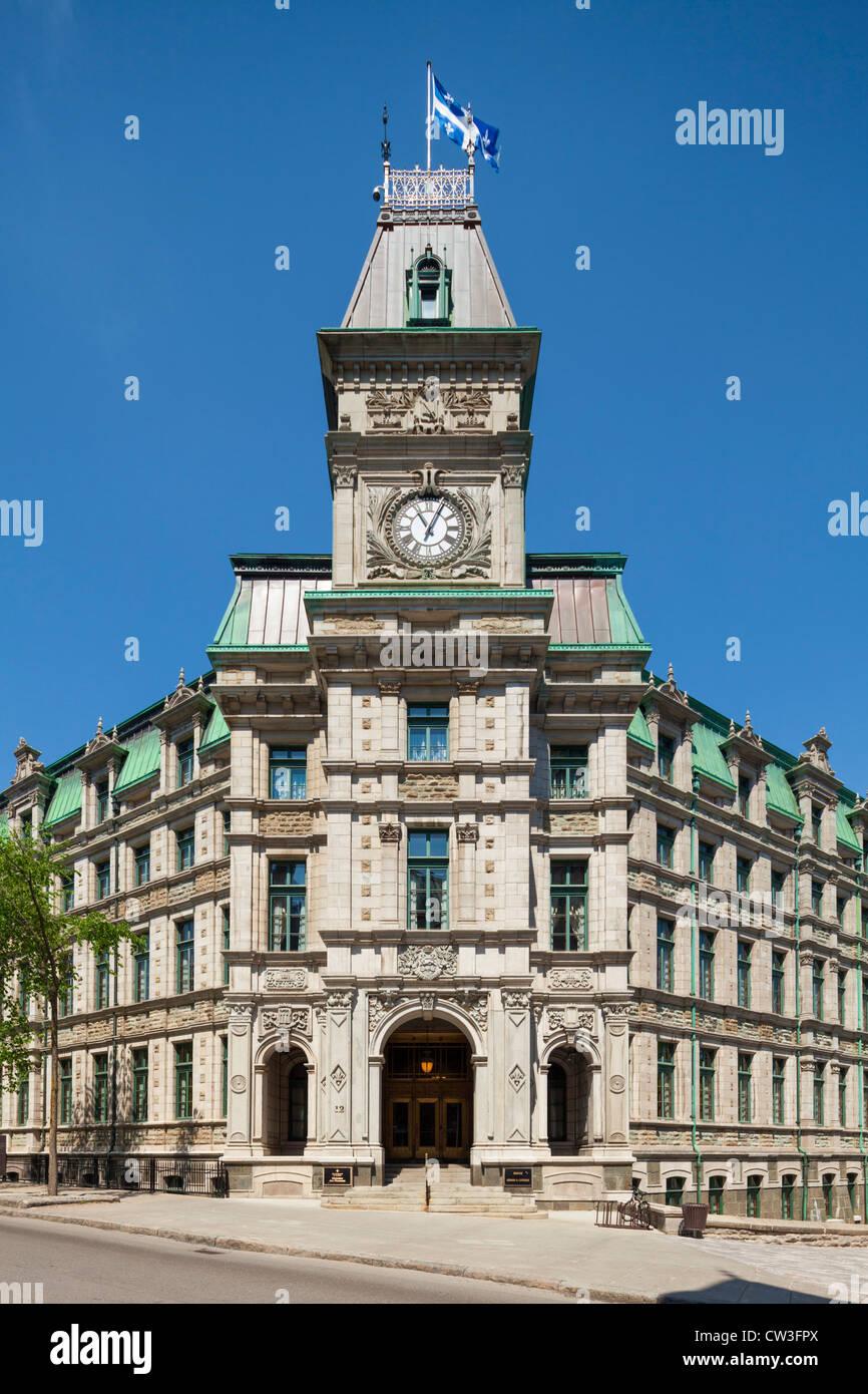 Ministère des Finances, Quebec City - Stock Image