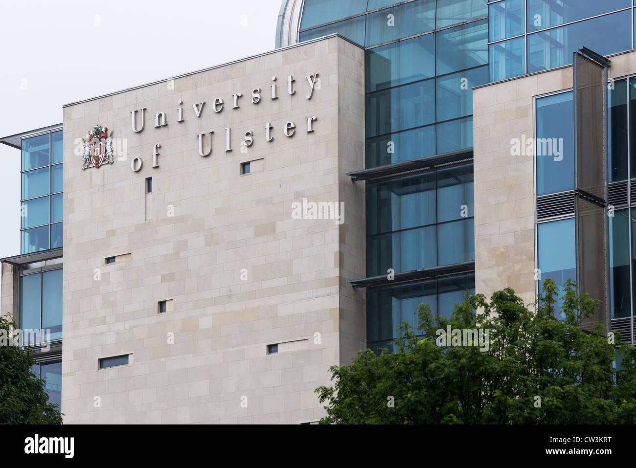 University of Ulster, Belfast, Ireland. - Stock Image