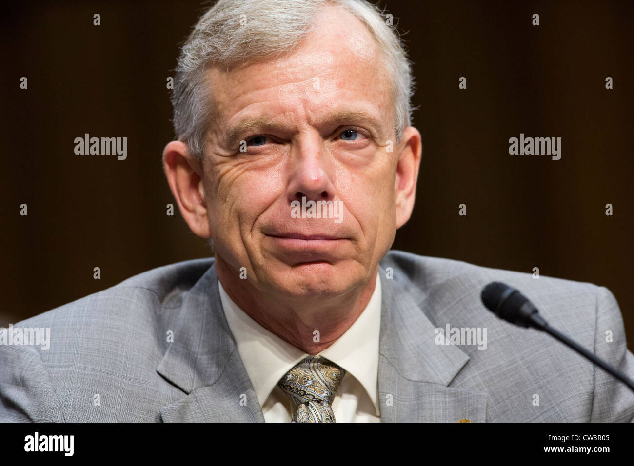 Lowell McAdam, President and Chief Executive Officer of Verizon.  - Stock Image