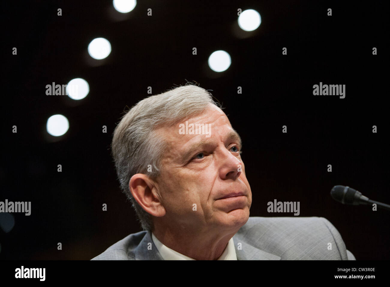 Lowell McAdam, President and Chief Executive Officer of Verizon.  Stock Photo