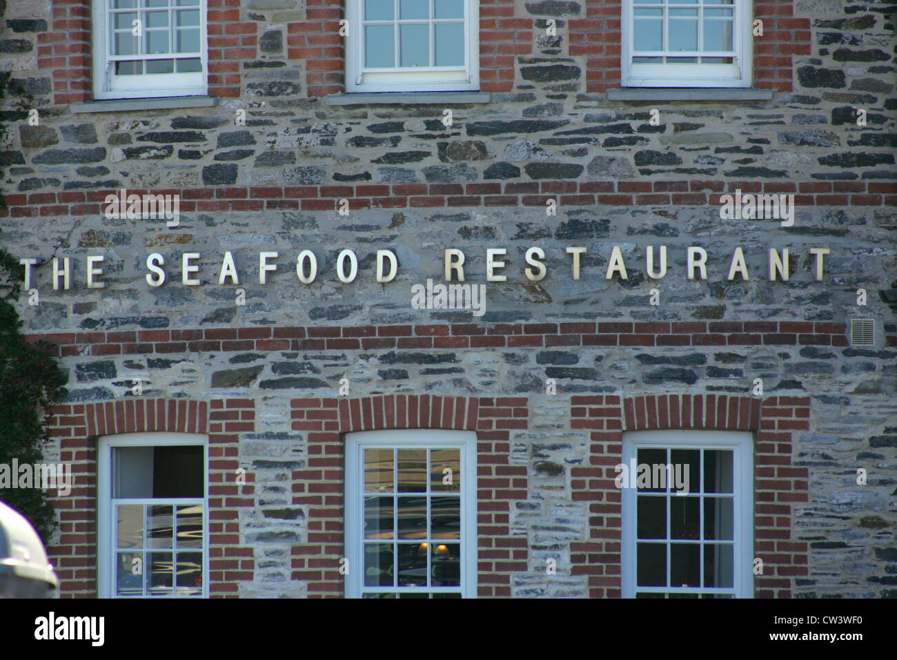 THE SEAFOOD RESTAURANT - RICK STEIN - PADSTOW - Stock Image