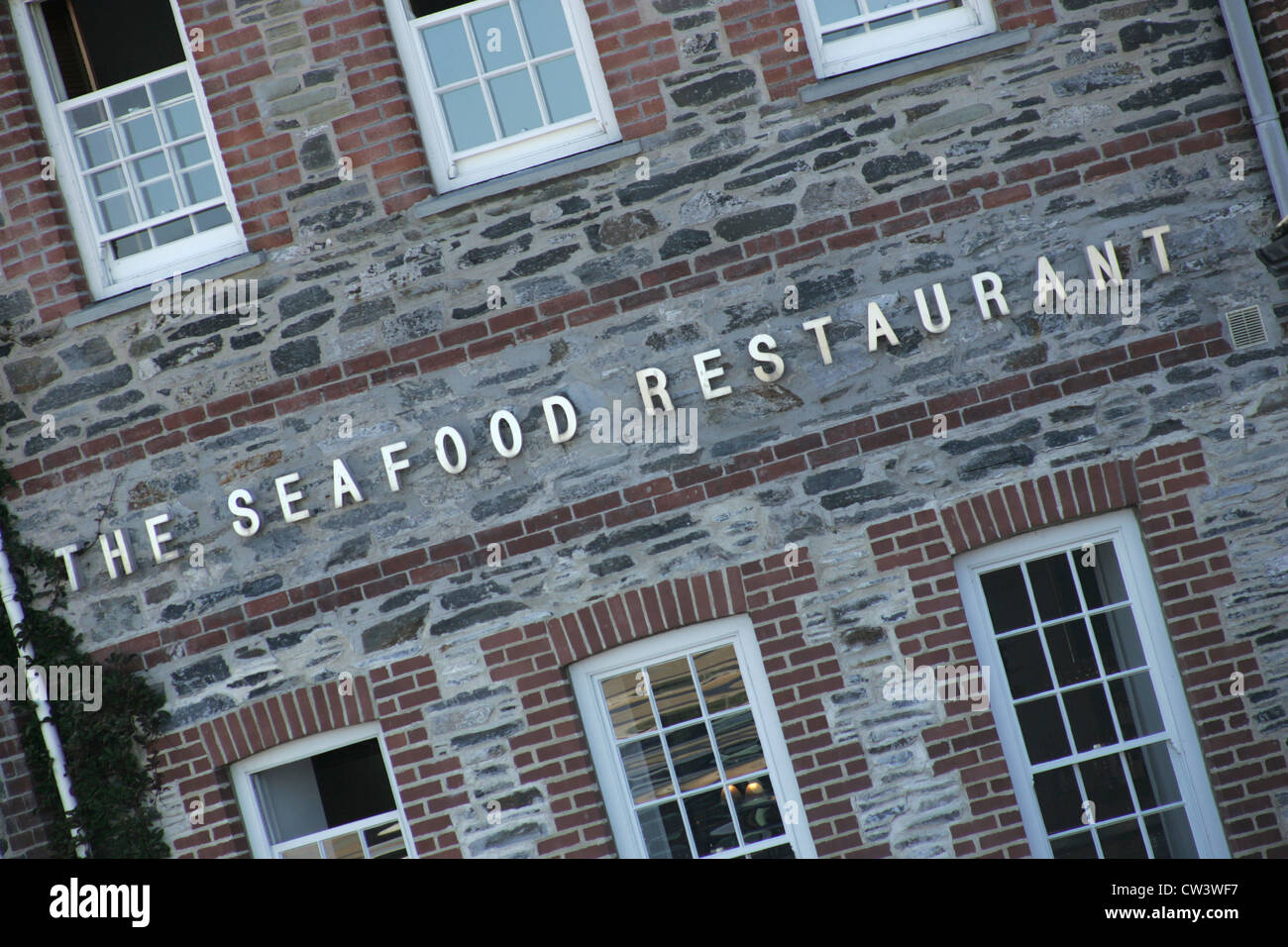 THE SEAFOOD RESTAURANT - RICK STEIN - Stock Image