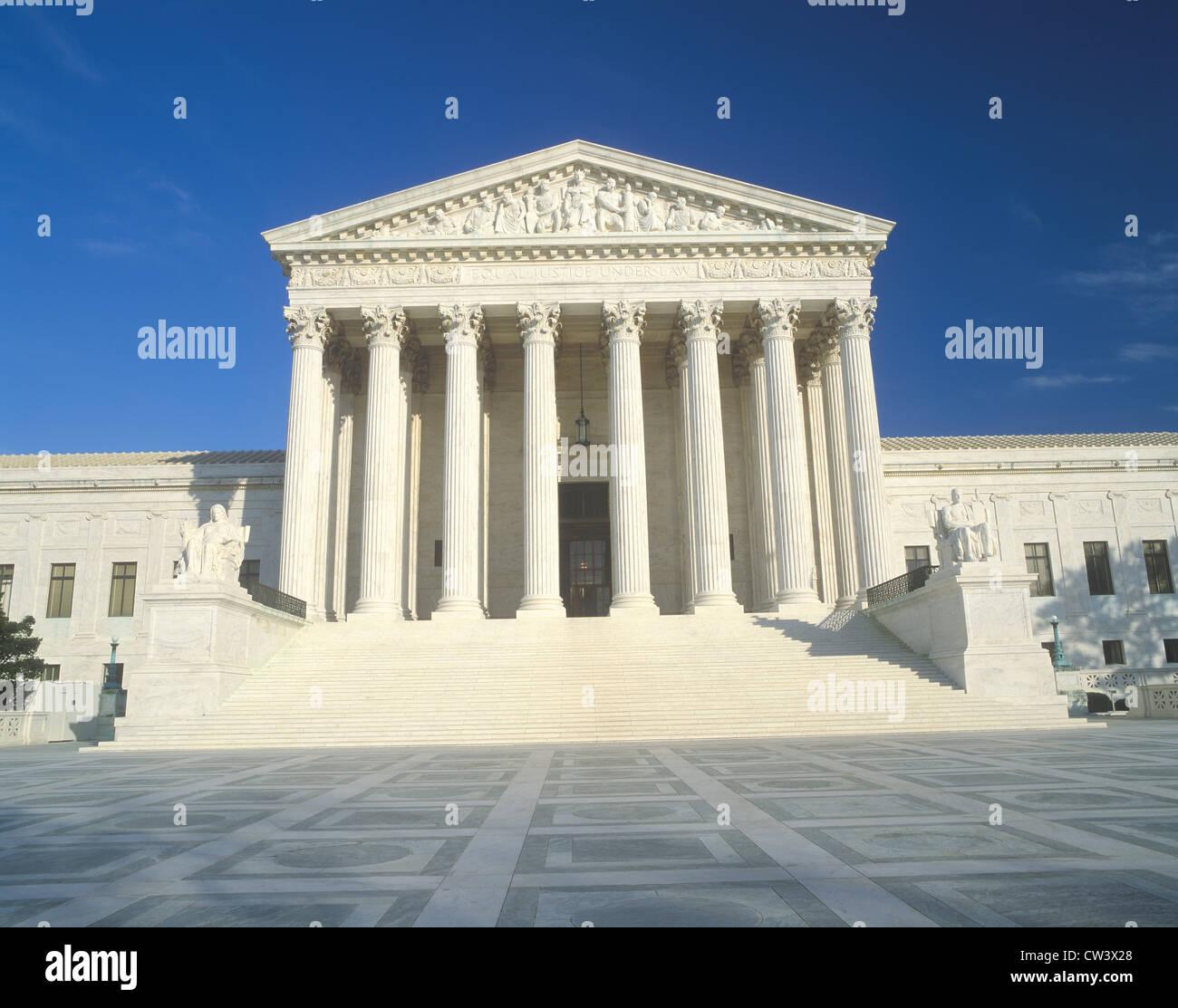 U.S. Supreme Court Building, Washington D.C. - Stock Image