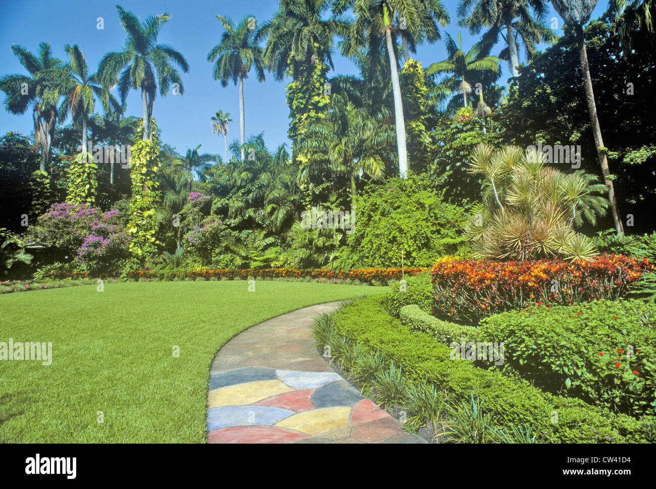 Sunken Gardens Florida 39 S Foremost Botanical Gardens St Petersburg Stock Photo 49876096 Alamy