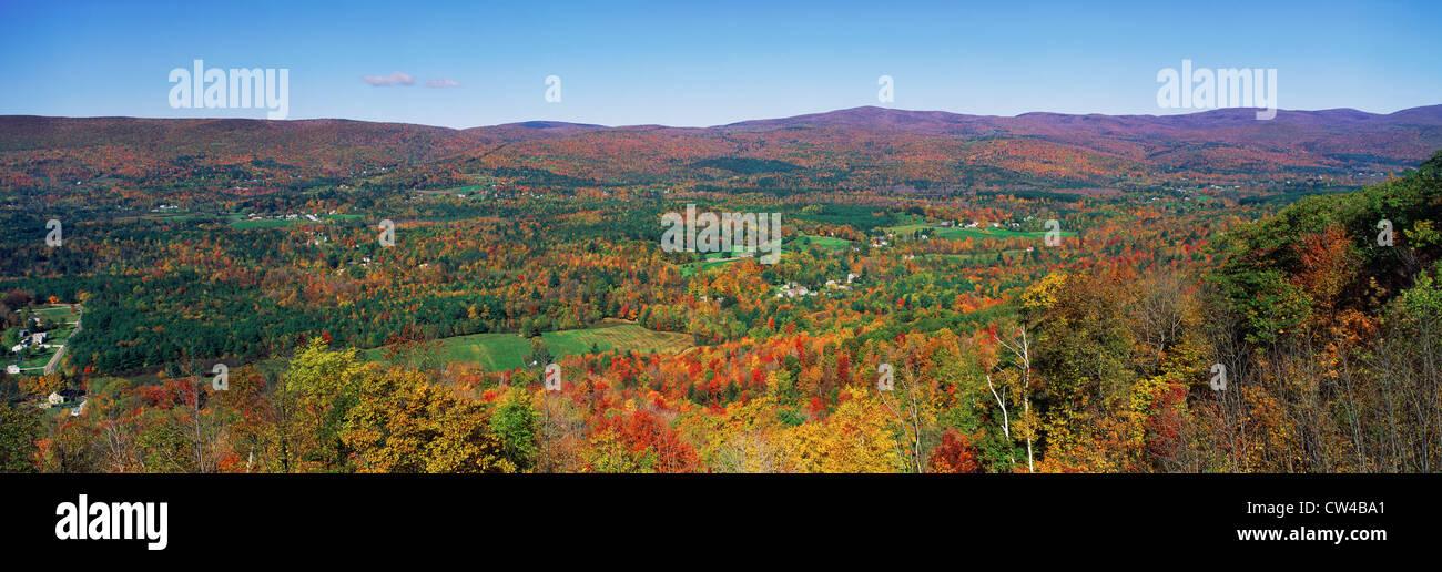 Berkshire Mountains, Massachussetts - Stock Image
