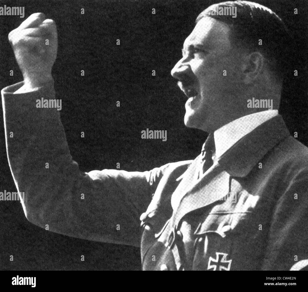 ADOLF HITLER (1889-1945) German Facist leader - Stock Image