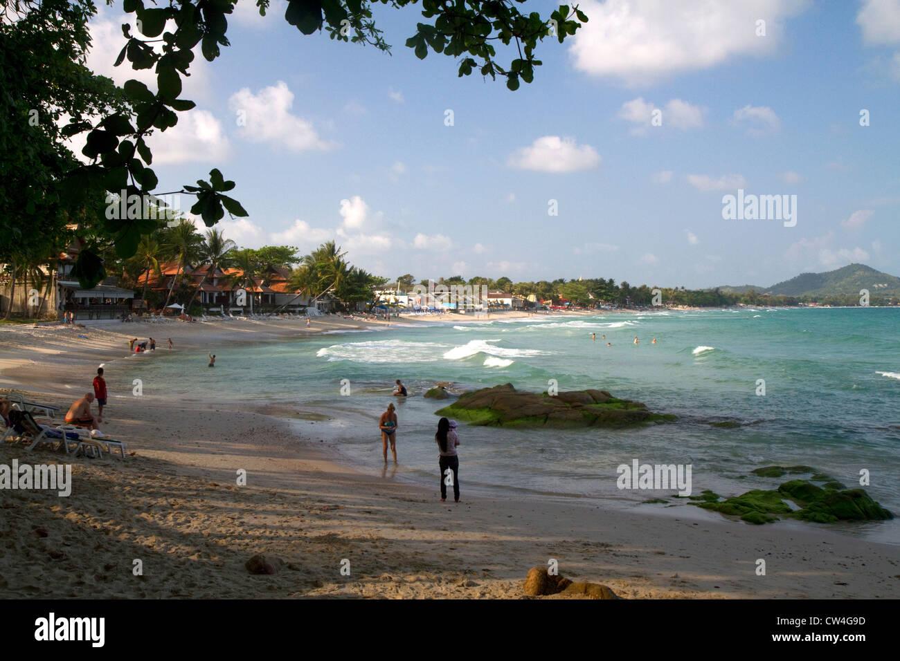 The Gulf of Thailand on the island of Ko Samui, Thailand. - Stock Image
