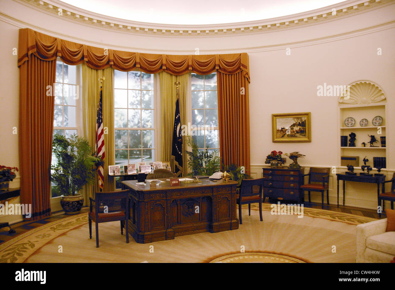 White House Oval Office High Resolution Stock Photography And Images Alamy