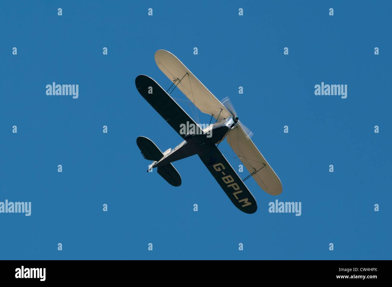 The Stampe Biplane Bi Plane Formation Display Team UK - Stock Image