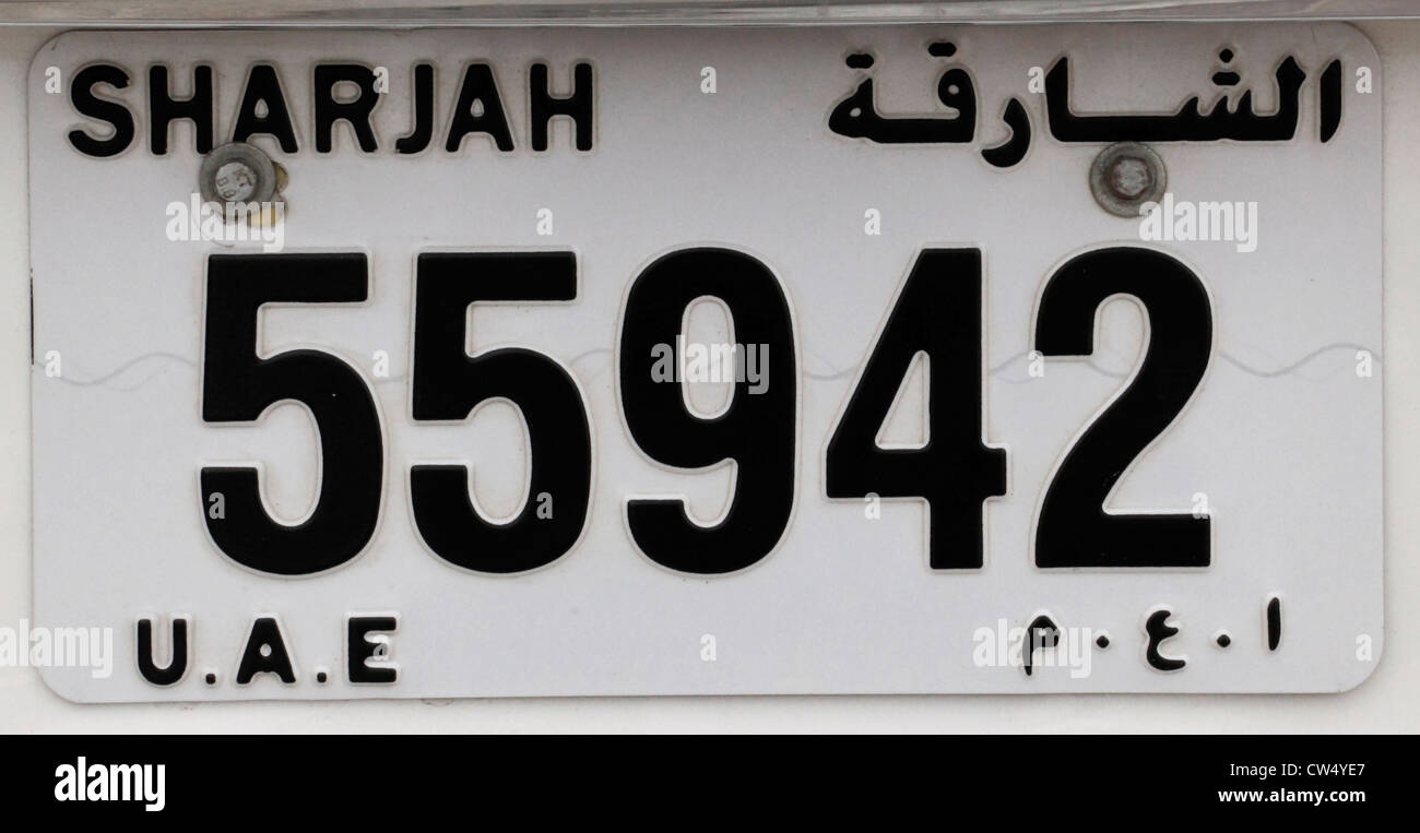 Number Plate Stock Photos & Number Plate Stock Images - Alamy