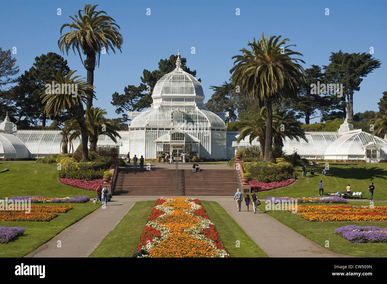 Elk253-X011 California, San Francisco, Golden Gate Park, Conservatory of Flowers - Stock Image