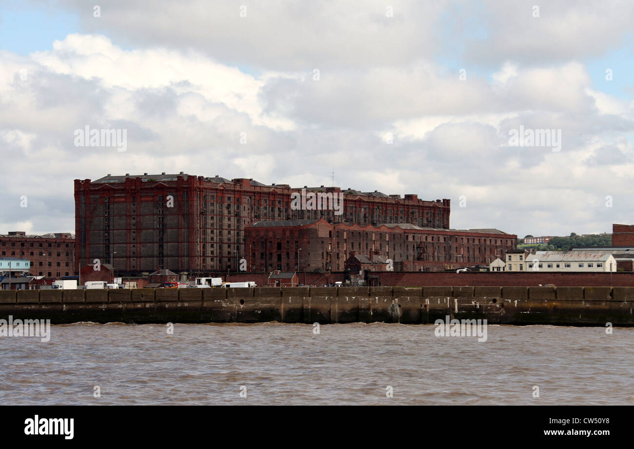 Stanley Dock Tobacco Warehouse in Liverpool Stock Photo