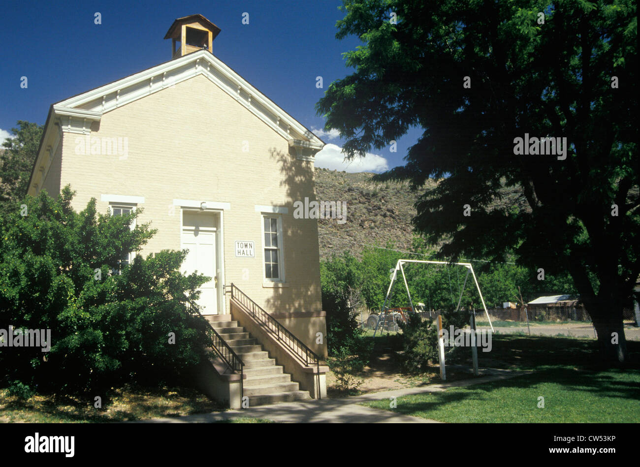 Town hall, Toquerville, UT - Stock Image