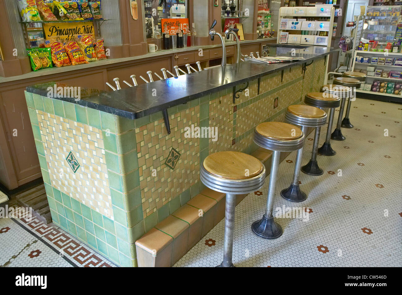 Old Fashioned Soda Fountain Stock Photos Amp Old Fashioned