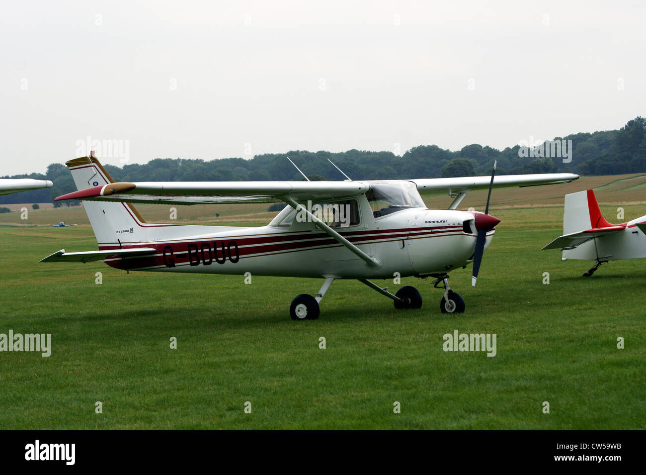REIMS AVIATION SA   CESSNA F150M G-BDUO, - Stock Image