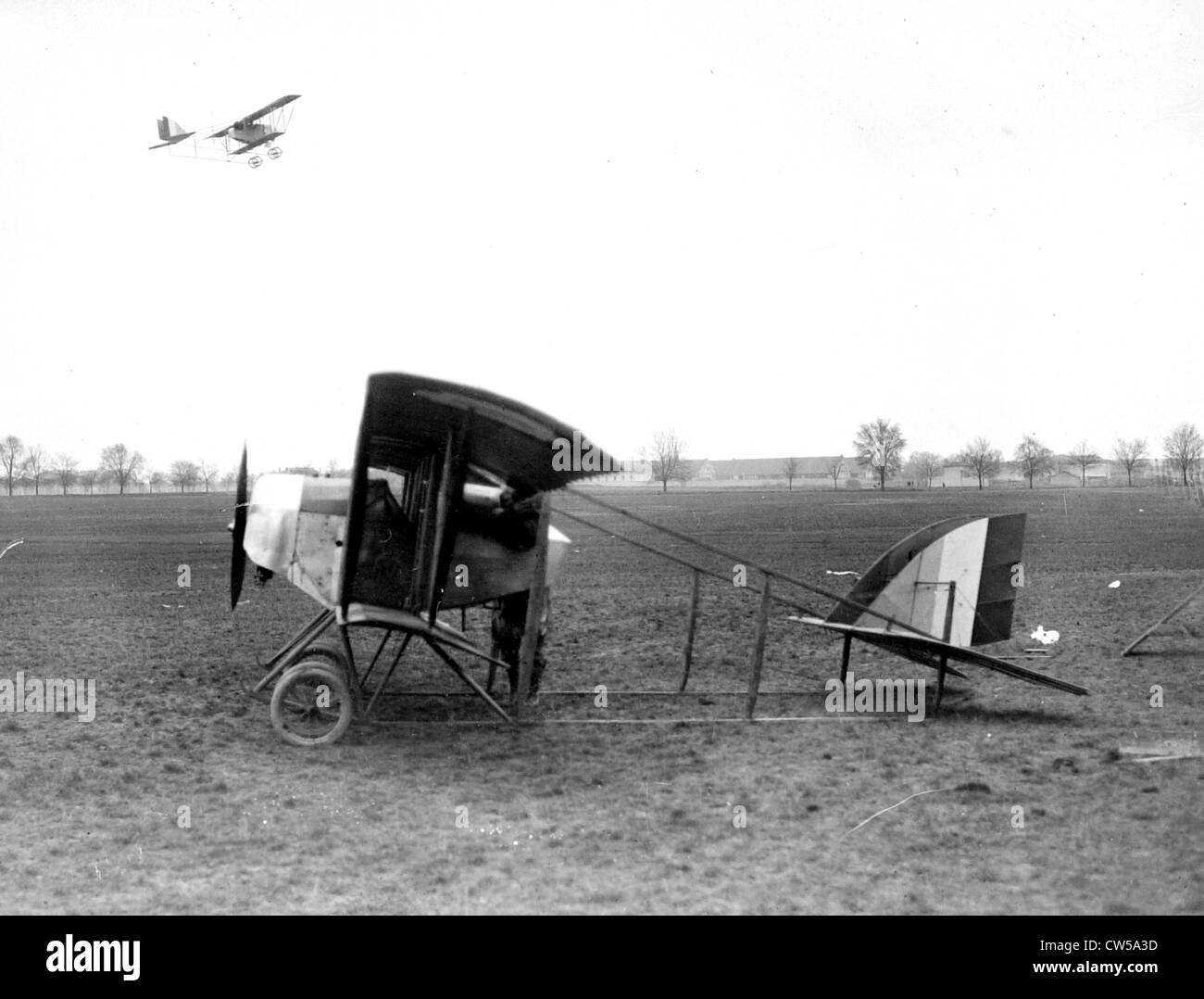 A reconnaissance flight starting out - Stock Image