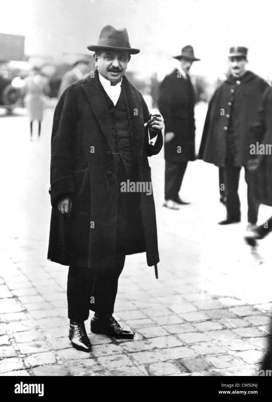 Portrait of Pierre Laval - Stock Image