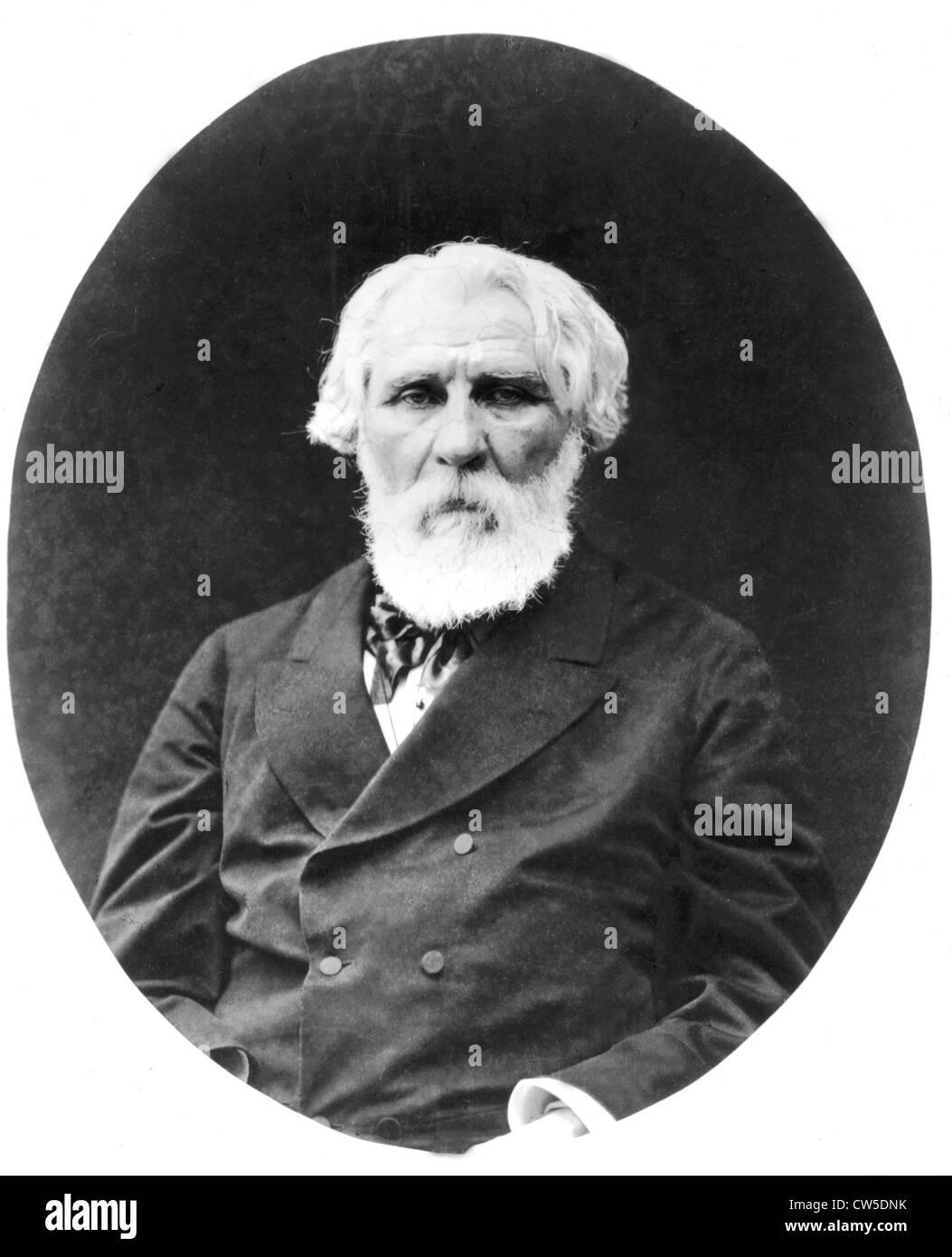 Ivan Sergheïevitch Tourgueniev (1818-1883) - Stock Image