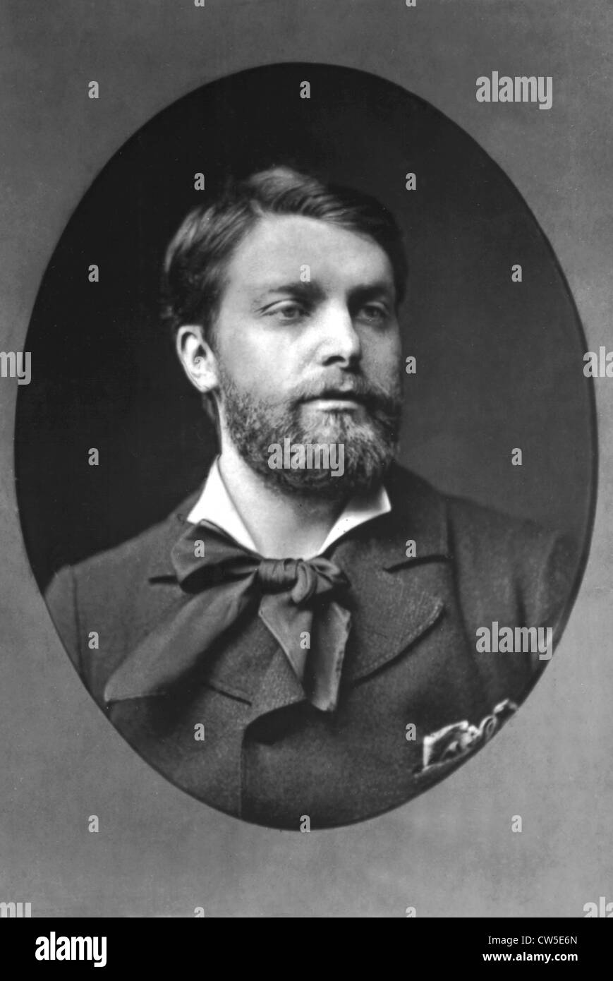 Henri Gervex, painter (1852-1929). Picture by Pierre Petit - Stock Image