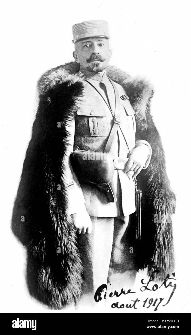 Portrait of Pierre Loti (1850-1923) - Stock Image