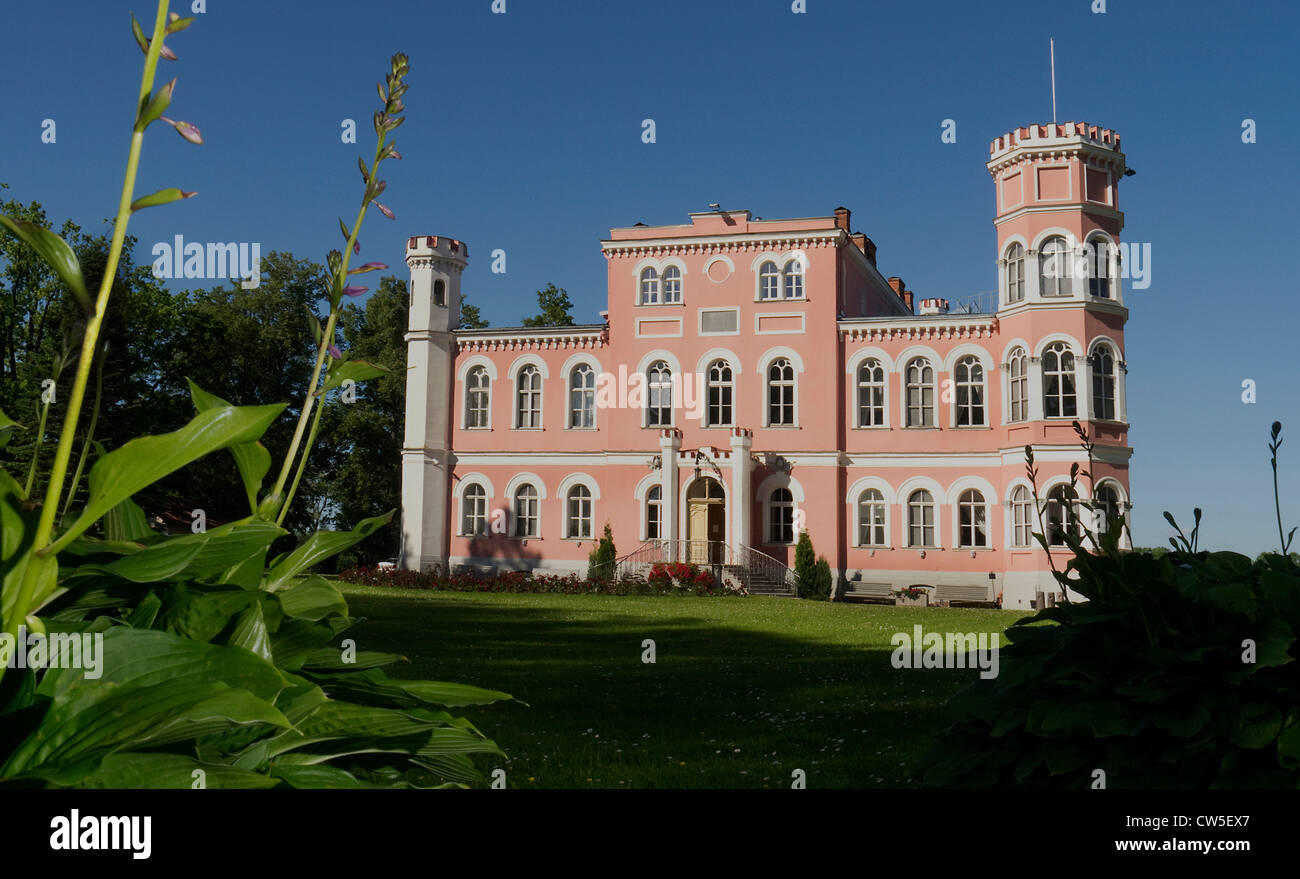 Birinu Pils (Manor) Latvia - Stock Image