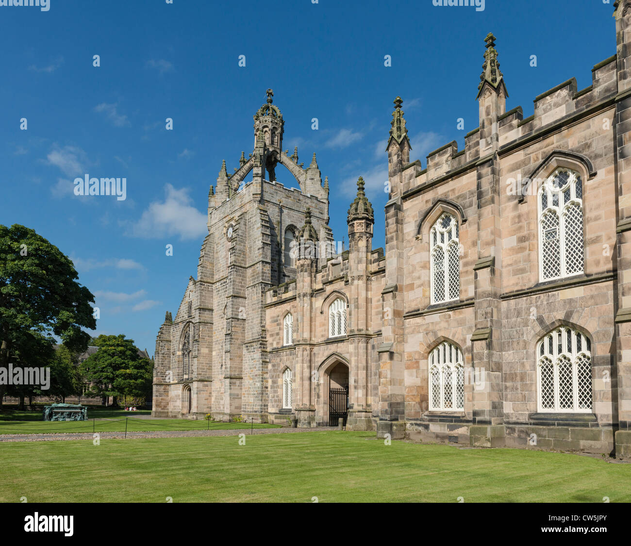 Kings College Aberdeen - Stock Image