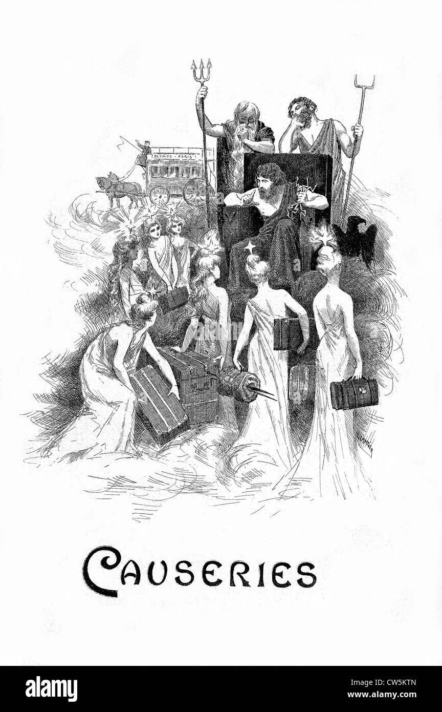 Causeries: Frontispiece - Stock Image