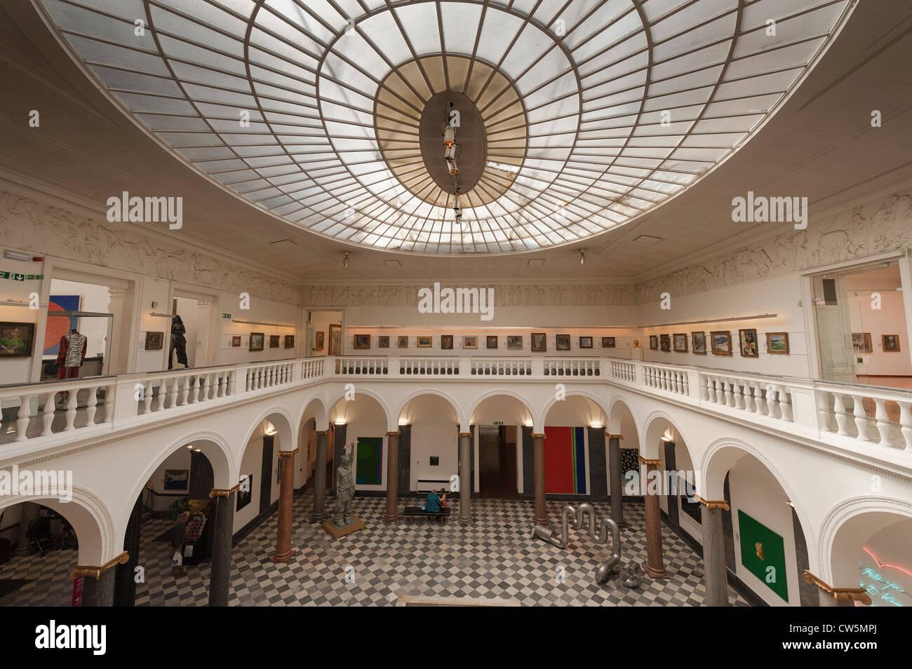 Art Gallery, Aberdeen - Stock Image